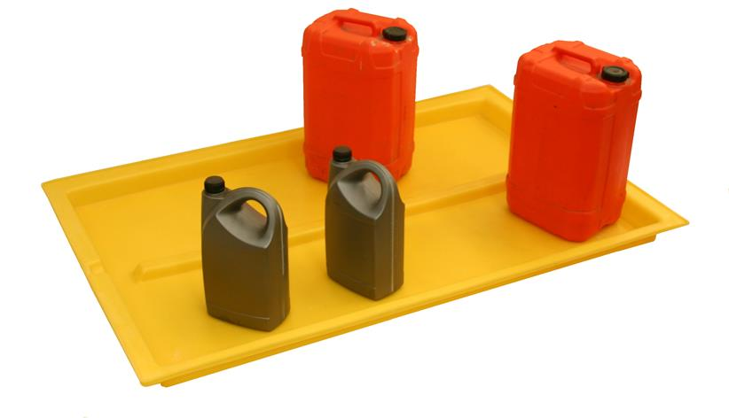 Low profile pol... Secondary Containment Tray