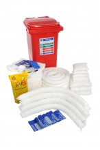 240 Oil Spill Kit Wheeled Unit